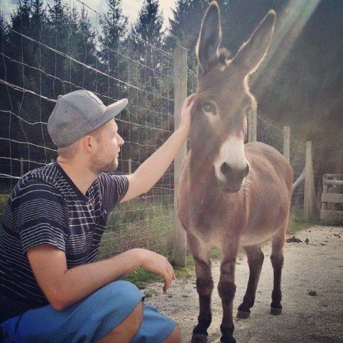 Wenn Andre gerade keine Hochzeitsvideos in Salzburg dreht, ist er in der Natur unterwegs